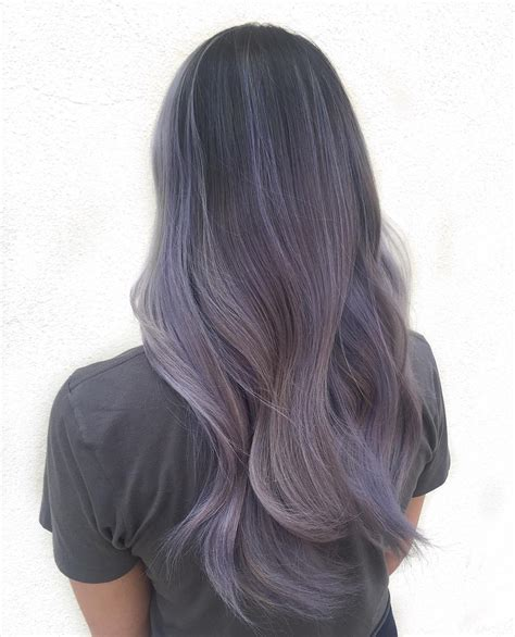 lilac hair color smokey lilac hair is the hair colour for 2016