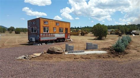 tiny homes for sale in az man builds two off grid cabins in northern arizona the