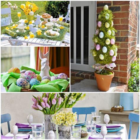 Easter Home Decorating Ideas Osterdekoration 27 Ideen F 252 R Bunte Stimmung Im Haus Und