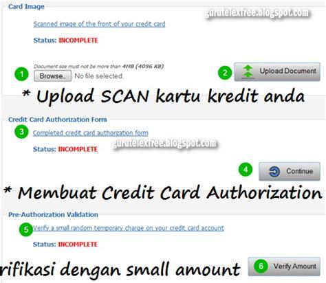 membuat kartu kredit dengan deposit perusahaan internasional