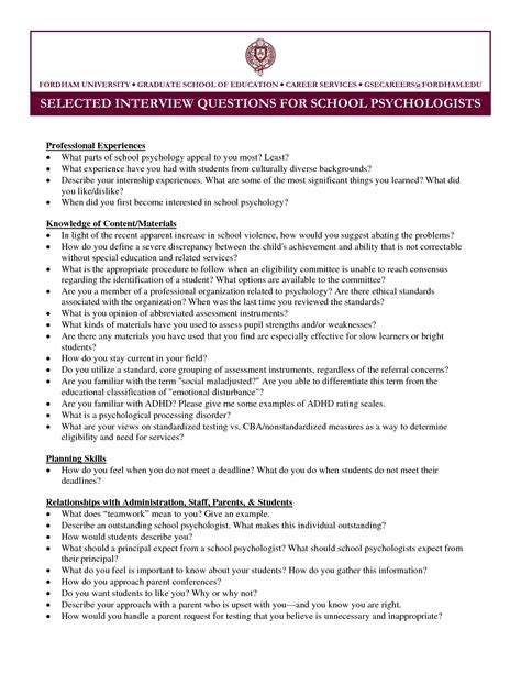 cv psychology graduate school sle resume cover letter