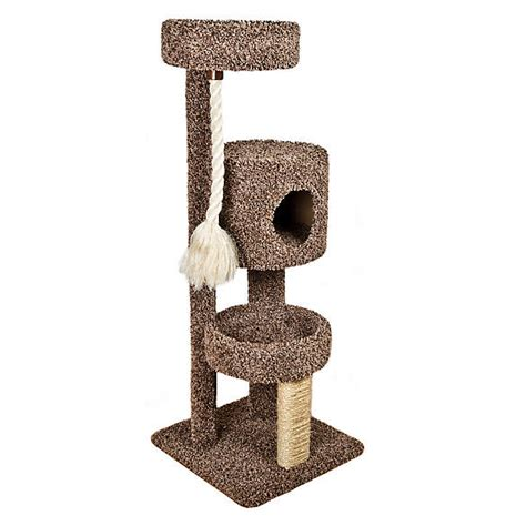 whisker city  story tower rope cat scratcher cat