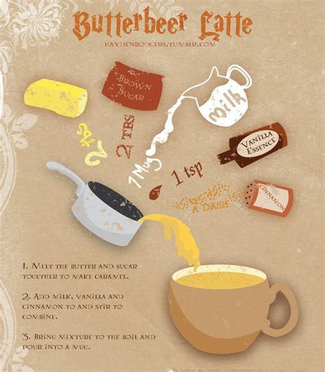 best 25 butterbeer latte ideas on latte