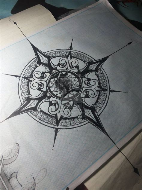vintage compass rose tattoo top vintage compass images for tattoos