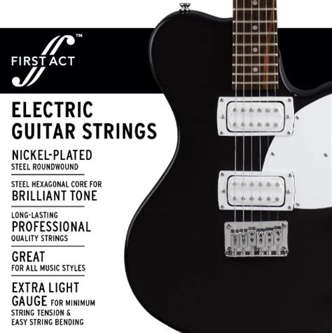 light electric guitar strings act light electric guitar strings mx649 ebay