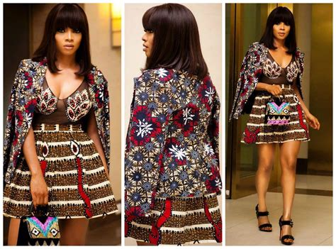differrent ankara styles from acctresses for the love of ankara celebrities stun in the latest