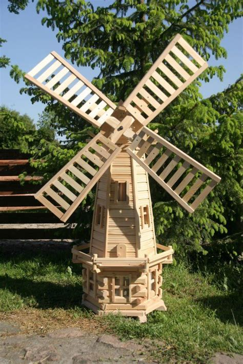 Diy Plans Wooden Garden Windmill