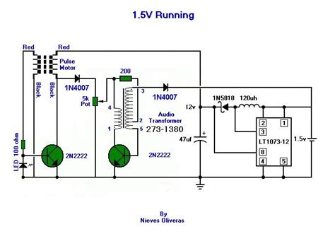 joule thief inductor value joule thief