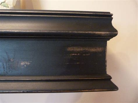 Mantel Floating Wall Shelf by Black 48 Quot L Wood Mantel Floating Shelf Farmhouse Style