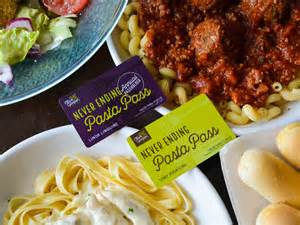 olive garden unlimited pasta pass olive garden is selling a pass that gives you a year of unlimited pasta for just 300 markets