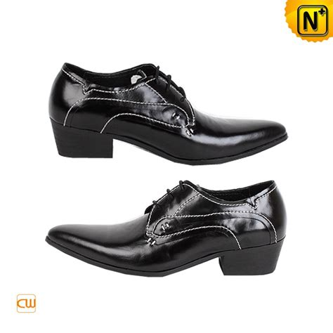 mens black oxford dress shoes mens black leather lace up oxford dress shoes cw760070