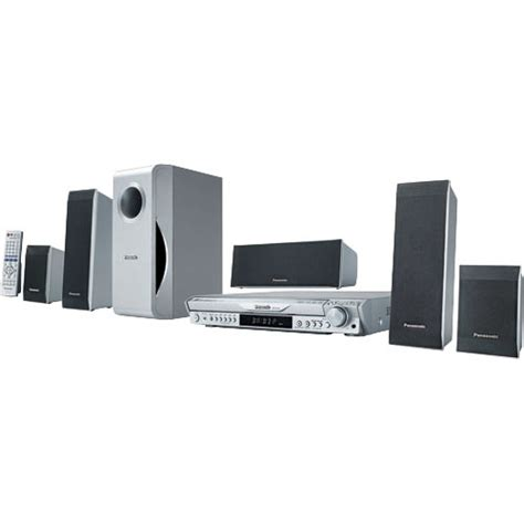 Home Theatre Panasonic panasonic sc ht440 5 dvd changer wireless home theater scht440