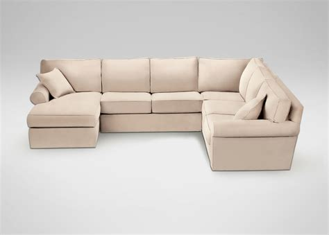 shop sectionals retreat roll arm sectional with chaise sectionals