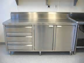 stainless steel commercial kitchen cabinets home design