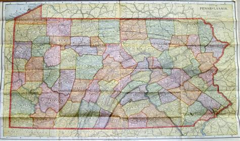 map of penn 1890 s pennsylvania maps