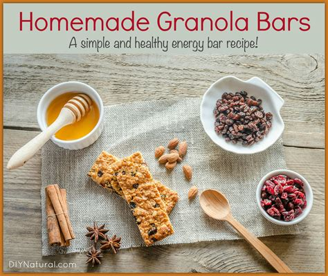 granola bars simple and healthy energy bars