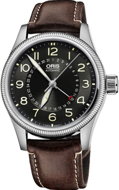 Oris Big Crown Pointer Date 75476794064ls oris big crown pointer date mens black