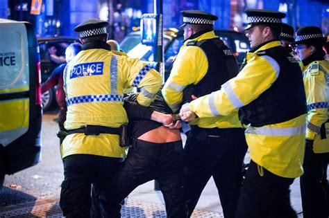 new year manchester make 14 arrests and are called to 123 incidents