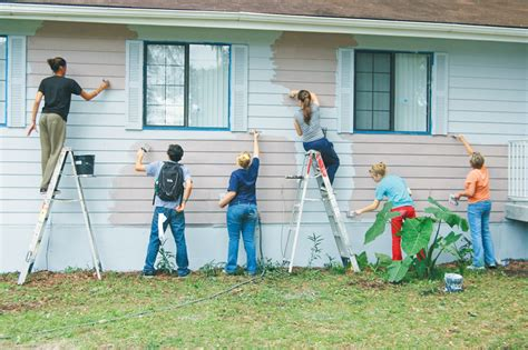 painting a house painting your house an effective way to increase the value