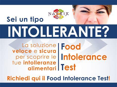 test intolleranze alimentari torino test intolleranze alimentari centro salute