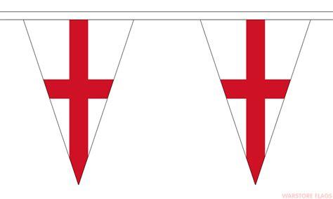 printable england flag bunting england st george triangular bunting 20 metres 54 flags