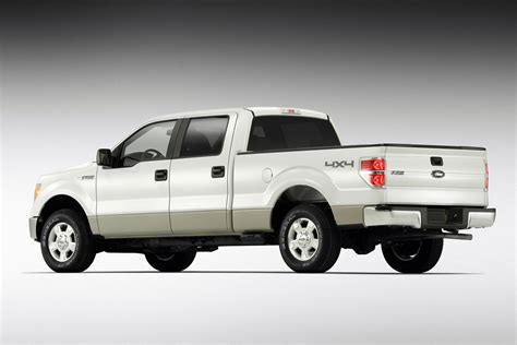 ford truck white 2009 ford f 150 starts at 21 320 the torque report
