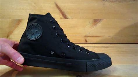 Conversehigh Total Black converse all chuck high black monochrome