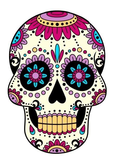 imagenes de calaveras coloridas calaveras mexicanas imagui