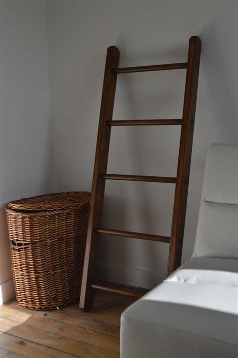 small multi purpose home decorative wooden ladder