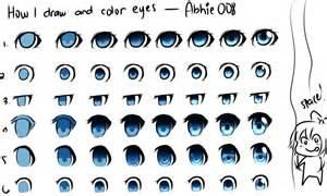 anime eye color how i draw and color by abhie008 on deviantart