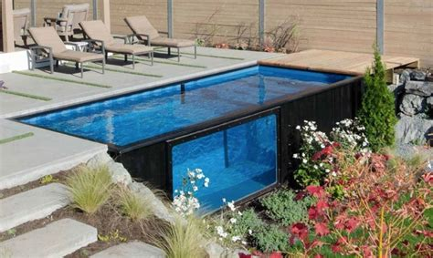 turning a shipping container into shipping containers turn into amazing swimming pools