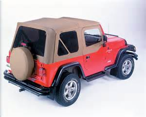 Tinted Jeep Soft Top Windows Jeep Replacement Soft Top Tinted Windows