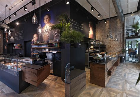 Cafe Design Italy | binary 11 bakery caf 232 by andrea langhi design milan