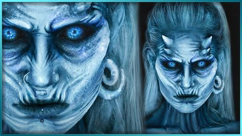 Gamis White white walker of thrones sfx makeup djarii