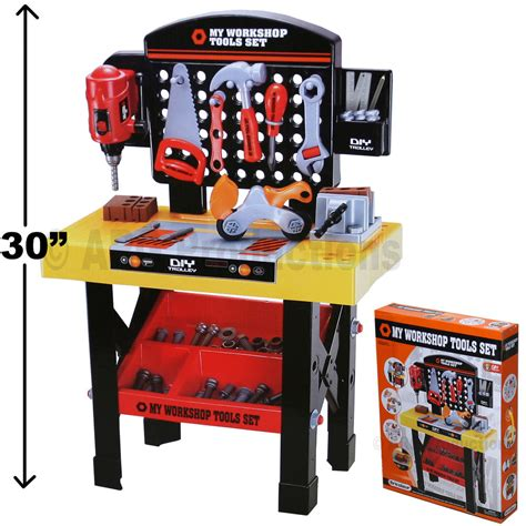 toy tool bench for toddlers workshop workbench toy kid child table tool saw hammer