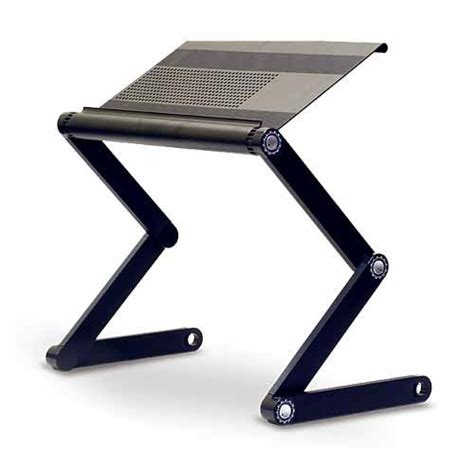 Laptop Adjustable Desk Adjustable Vented Laptop Table Laptop Computer Desk Portable Bed Tray Book Stand