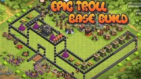 3d Puzzle Coc Clash Of Clans Box clash of clans epic troll bases top 20 quot 3d box noob trolling quot must