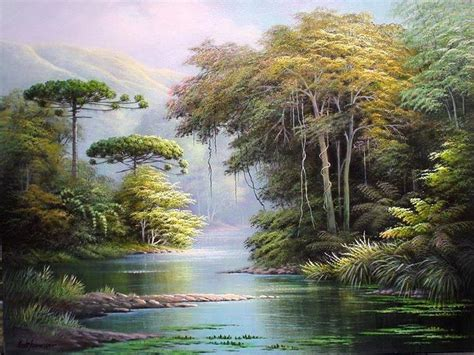 imagenes de paisajes oleo im 225 genes arte pinturas frescos paisajes selv 225 ticos y del