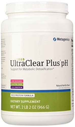 Ultraclear Plus Ph Detox by Metagenics Ultraclear Plus Ph Vanilla Flavor