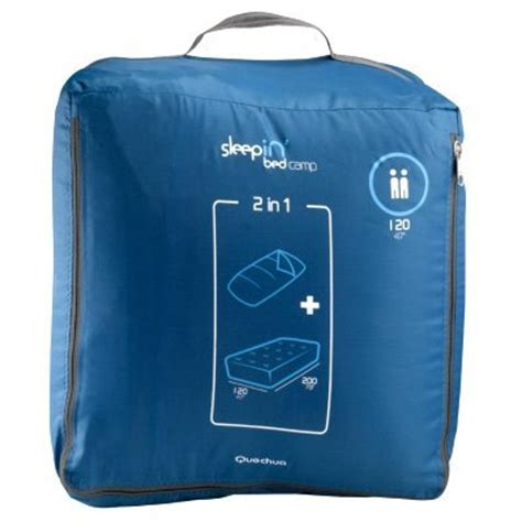 decathlon cama hinchable saco de dormir con colch 243 n incorporado de decathlon