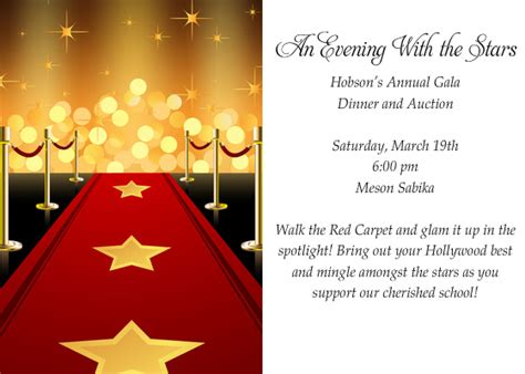 free templates for hollywood invitations hollywood party invitations templates