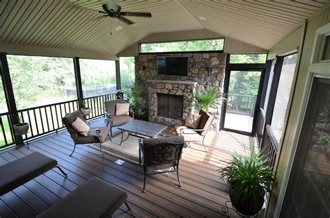 decks with fireplaces recent projects by breyer construction landscape