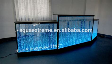 Desk Water by Amazing Water Reception Desk Counter With Led