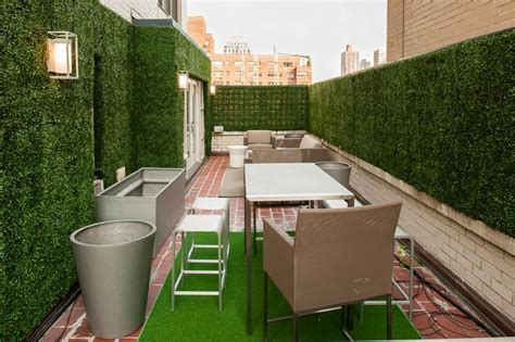 Patio Walls For Privacy by The Lowdown On Privacy Screens Artificial Plants