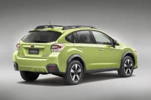 Subaru Trek Hybrid Subaru To Show Xv Crosstrek Hybrid In New York