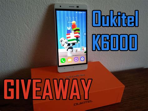 Free Phone Giveaway In India - majordroid giveaway win a free phone oukitel k6000