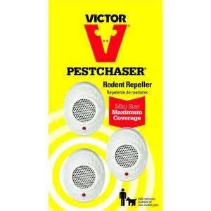 rat repellent home depot victor mini pestchaser ultrasonic rodent repellent 3 pack