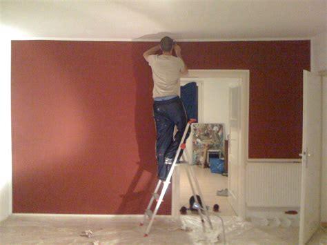 farbgestaltung wände beispiele arbeitsplatz im schlafzimmer