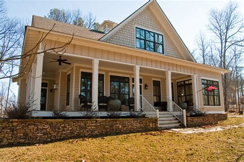 plans story country style house wrap around porch level one