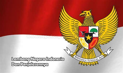 lambang negara indonesia  penjelasannya